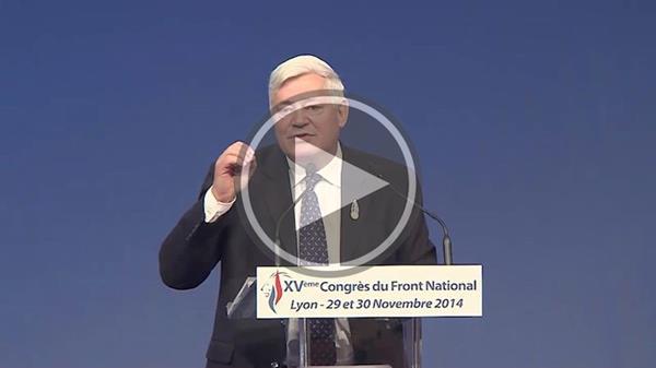 Vidéo discours Bruno Gollnisch