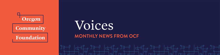 News from Oregon Community Foundation