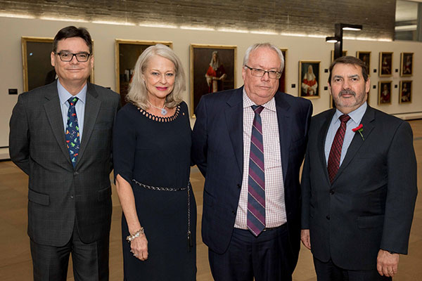 John Allen, Margaret McMurdo, Michael Shanahan and Paul Davey