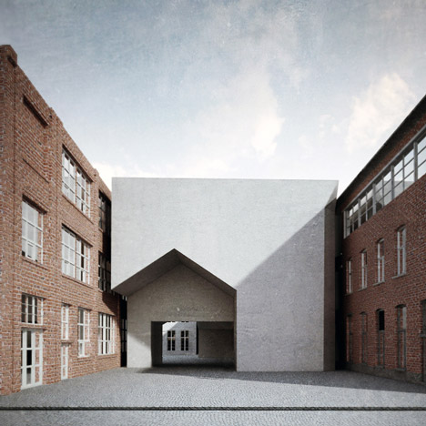 Aires Mateus to design architecture school with a house-shaped entrance