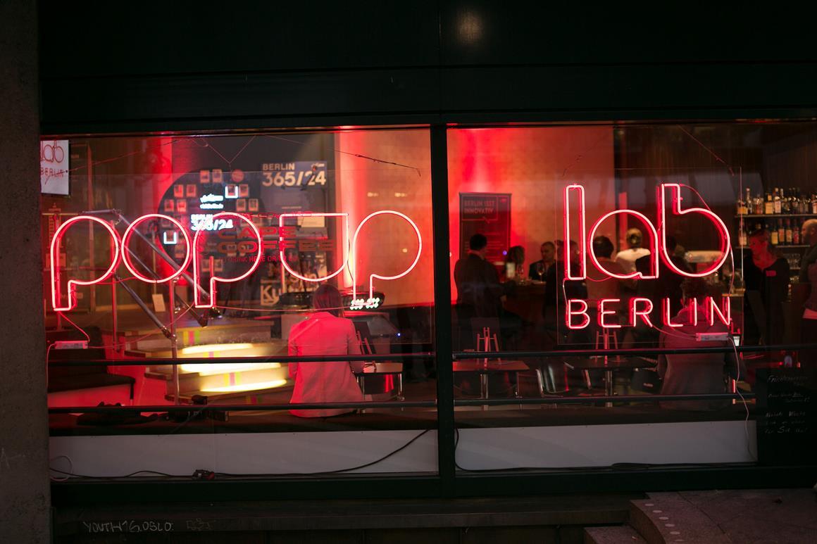 Pop up lab Berlin