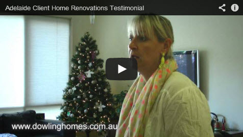 Adelaide Client Home Renovations Testimonial