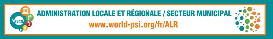 Site web ISP ALR/Secteur municipal
