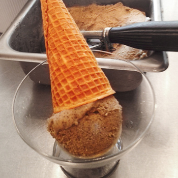 Nutty Black Sesame Ice Cream