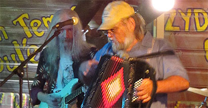 JB's Zydeco Zoo is playing at the Cajun Cafe February 9