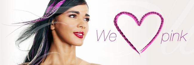 We heart pink
