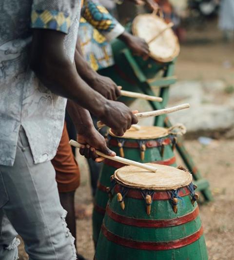 Semester at Sea Drums