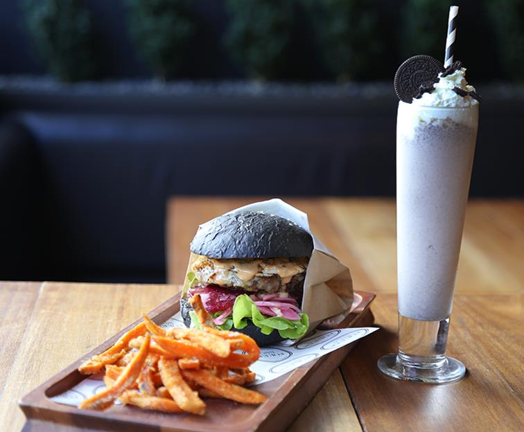 We've pounded the pavement to bring you the ULTIMATE burger and shake combo