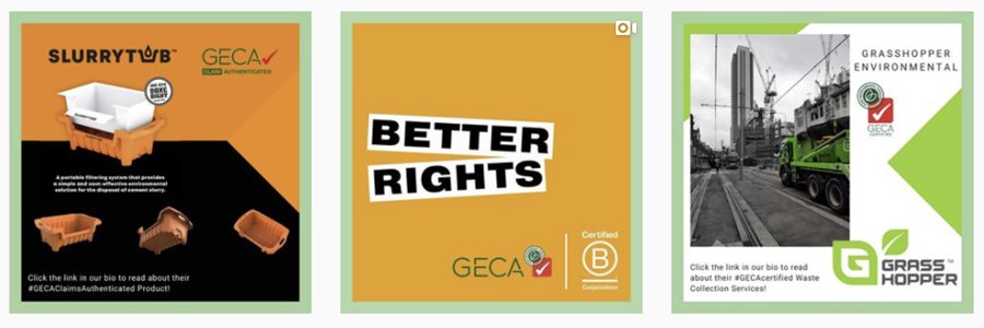 Follow GECA on Instagram