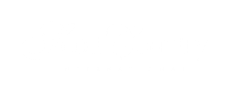 Scott Country International Logo White