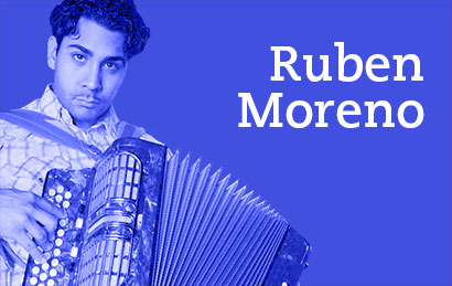 Ruben Moreno will be performing at Long Beach Crawfish Festival on August 3 and 4