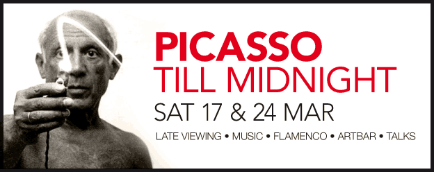 Picasso Till Midnight, Saturday 17 & 24 March