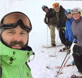 Special Olympics BC – Coquitlam coach Mark Schnurr