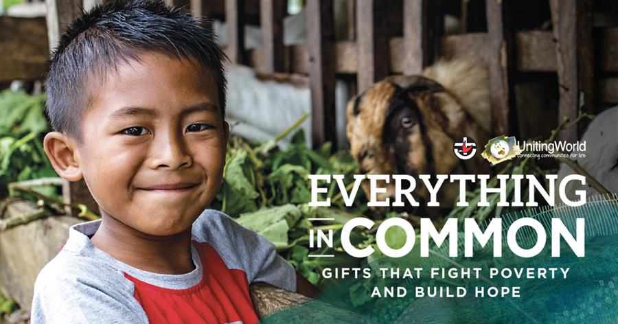 Everything in Common: Gifts that fight poverty and build hope