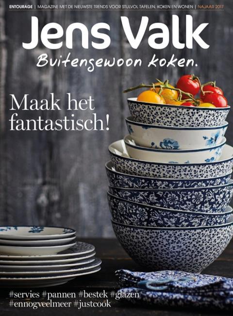 Jens Valk Buitengewoon koken magazine najaar 2017