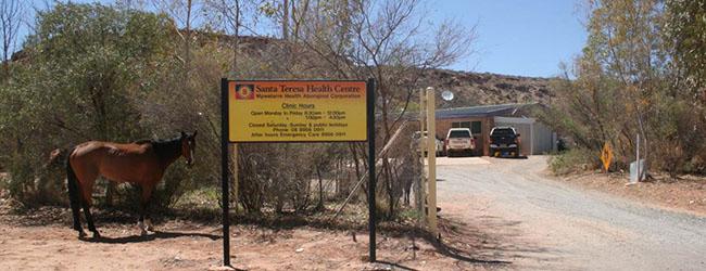 Santa Teresa Health Centre (photo courtesy of Central Australian Aboriginal Congress)