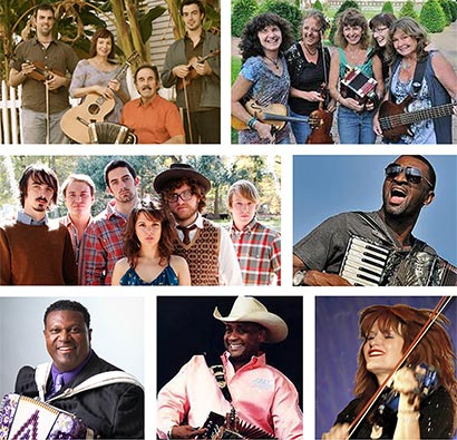 Appearing at Florida Cajun-Zydeco Festival will be Savoy Family Cajun Band, C'est Bon Cajun Band, Feufollet, Curley Taylor and Zydeco Trouble, Chubby Carrier, Geno Delafose, and Grammy-nominated Lisa Haley & The Zydekats!