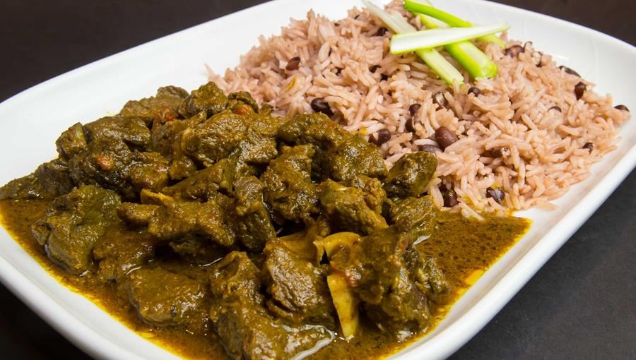 curry goat image