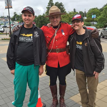 Law Enforcement Torch Run for Special Olympics BC