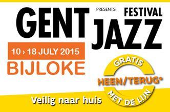 Gent Jazz 10 tot 18 juli 2015 Bijloke site