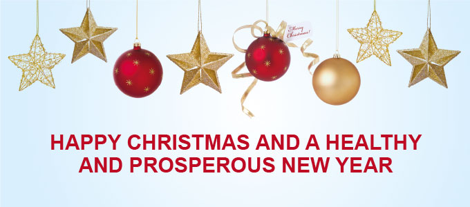 Happy Christmas and A Healthy and Prosperous New Year