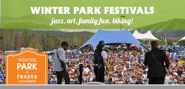 Winter Park Festivals - jazz, art, family fun, biking!
