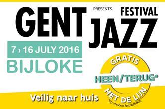 Gent Jazz van 7 tot 16 juli op de Bijlokesite