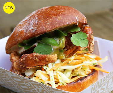 A new mobile burger joint that specialises in theses voluptuous  creations
