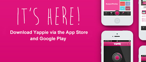 Yappie is ready in the AppStore and GooglePlay