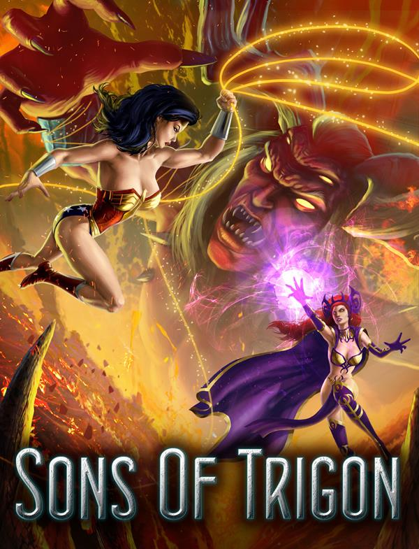 Sons of Trigon Key Art