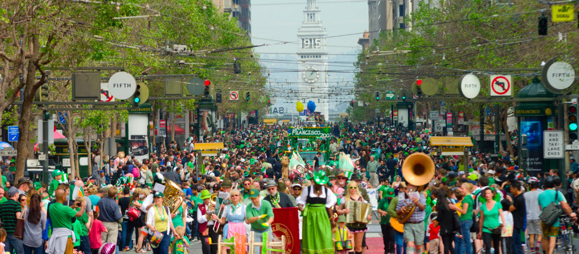 The Royal Exchange's Annual St. Patrick's Day Block Party