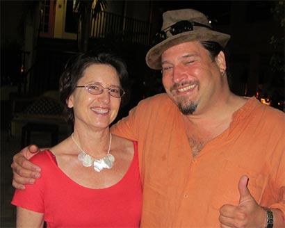 Jane Hance with Lipbone Redding