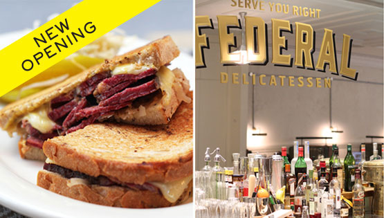 NEW OPENING: FEDERAL STREET DELICATESSEN