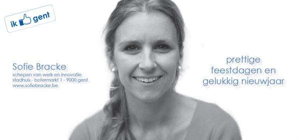 Sofie wenst u een inspirerend 2012