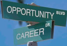 Opportunity and Career Sign Post