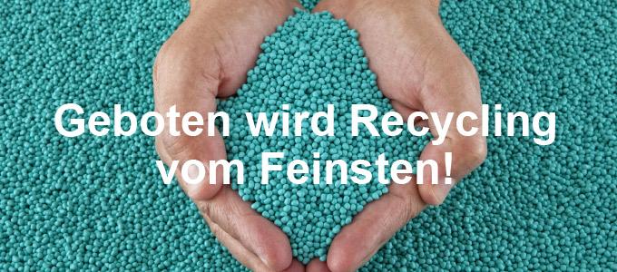 Geboten wird Recycling vom Feinsten!