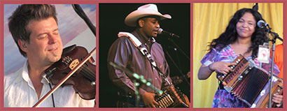 Cajun and Zydeco Musicians