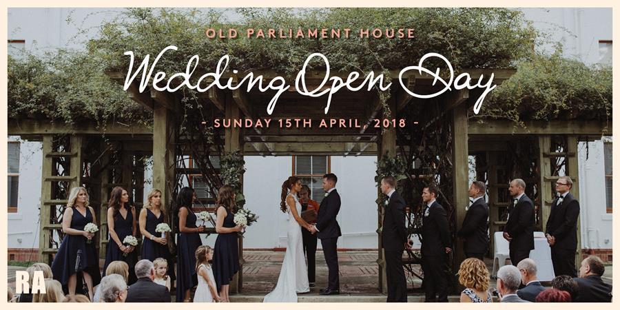 Wedding Open Day 2018