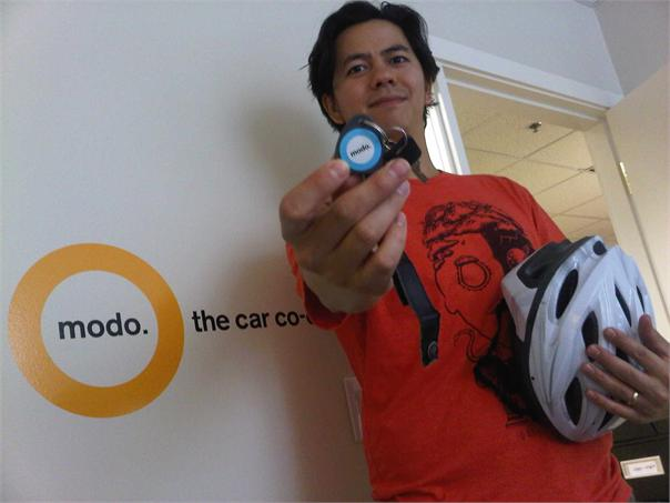 modo members are cyclists - happy year of the bike!