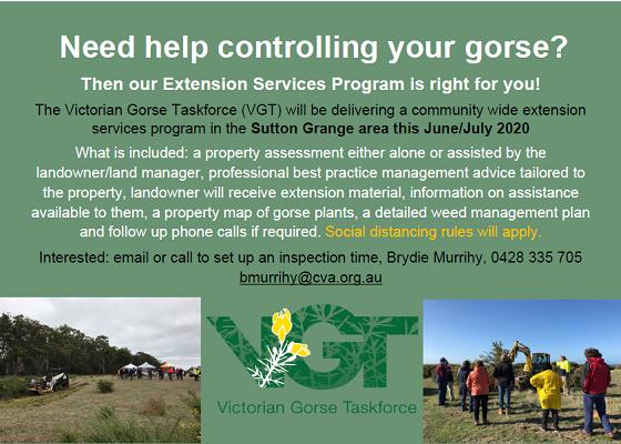 Need help controlling gorse?
