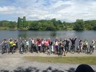NUI Galway lunchtime cycle photo