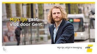 Mijn lijn gaat vlot door Gent