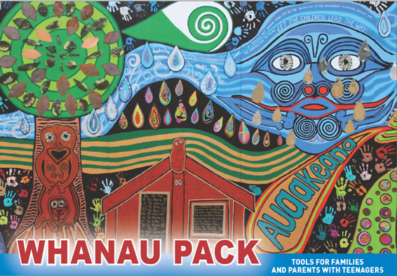 The new Whānau Pack booklet