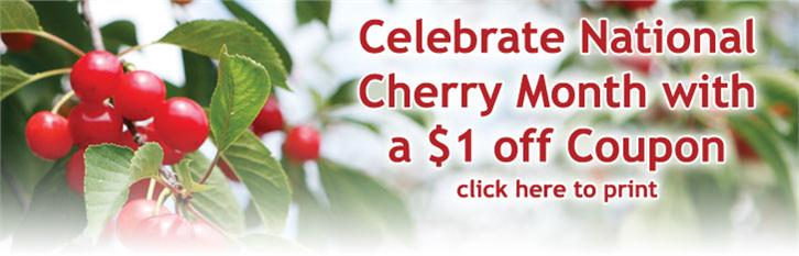 Save $1 off Tart Cherry Juice