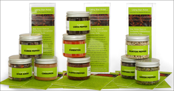 The Ingredient Finder's SIngle Note Spices Collection