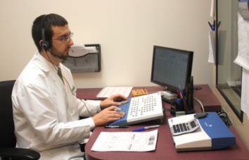Hearing Tests at ENT of Western New England