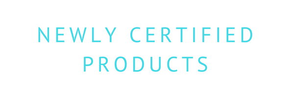 New GECA Certified Products