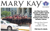 GCADV and Mary Kay Collaborate to Support Funding for Crucial Domestic Violence Services