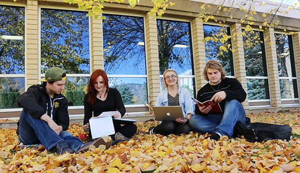 Maddie Snelgrove, pictured second from left, earned a $12,000 entrance scholarship taking her from Selkirk College School of University Arts & Sciences to the Urbanism program at Carleton University, a unique undergraduate program in Architecture.