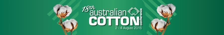 2016 Australian Cotton Conference, 2-4 August 2016
